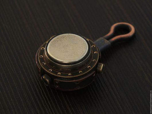 Брелоки ручной работы. Ярмарка Мастеров - ручная работа. Купить Ключ для домофона. Steampunk(стимпанк).. Handmade. Ключ для домофона, медь патинированная
