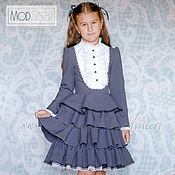 Одежда handmade. Livemaster - original item School dress Art.066. Handmade.