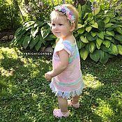 Работы для детей, handmade. Livemaster - original item dresses: Sundress,tunic,top. Handmade.