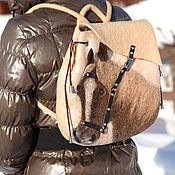 Сумки и аксессуары ручной работы. Ярмарка Мастеров - ручная работа Авторская сумка - рюкзак Лошадка. Handmade.