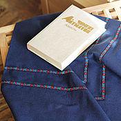 Для дома и интерьера ручной работы. Ярмарка Мастеров - ручная работа Скатерть из льна, 150х150 см. Handmade.