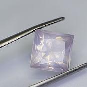 Материалы для творчества handmade. Livemaster - original item Rose quartz 7,9 x 5,8 mm. of 2,41 Ct. Handmade.