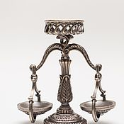 Сувениры и подарки manualidades. Livemaster - hecho a mano Sostenedor de vela de escala. Handmade.