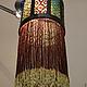 Освещение ручной работы. будуарный фонарь из бисера. Mantipa 123. Интернет-магазин Ярмарка Мастеров. Бисер, орнамент, бисероткачество, бисер