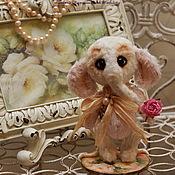Куклы и игрушки ручной работы. Ярмарка Мастеров - ручная работа Слоняша-теддик Люси. Handmade.