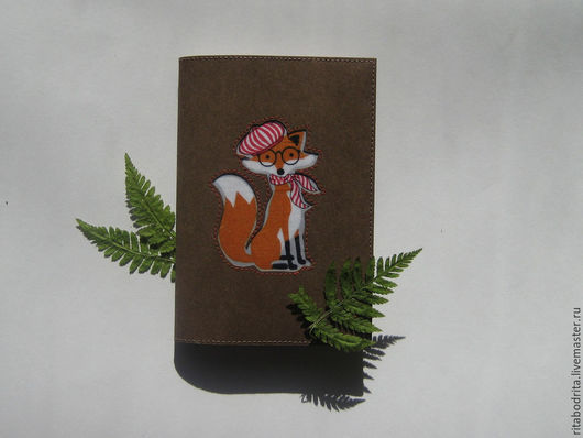 """Обложки ручной работы. Ярмарка Мастеров - ручная работа. Купить Обложка для паспорта """"Лисичка"""". Handmade. Разноцветный, обложка для паспорта"""