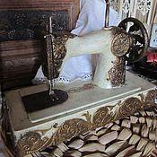 """Для дома и интерьера ручной работы. Ярмарка Мастеров - ручная работа Швейная машинка детская """"Подарку полвека"""". Handmade."""