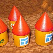 Куклы и игрушки ручной работы. Ярмарка Мастеров - ручная работа Игрушки из дерева Домики. Handmade.