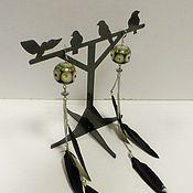 Украшения handmade. Livemaster - original item Apache Earrings. Handmade.