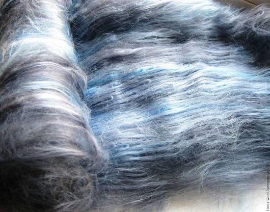 батт вискозы, вискоза 100%, волокна вискозы, декоративные волокнадля валяния, мокрое валяние, вискоза в баттах, вискоза, вискозные волокна для валяния, вискоза мультиколор цветная вискоза, серая сер