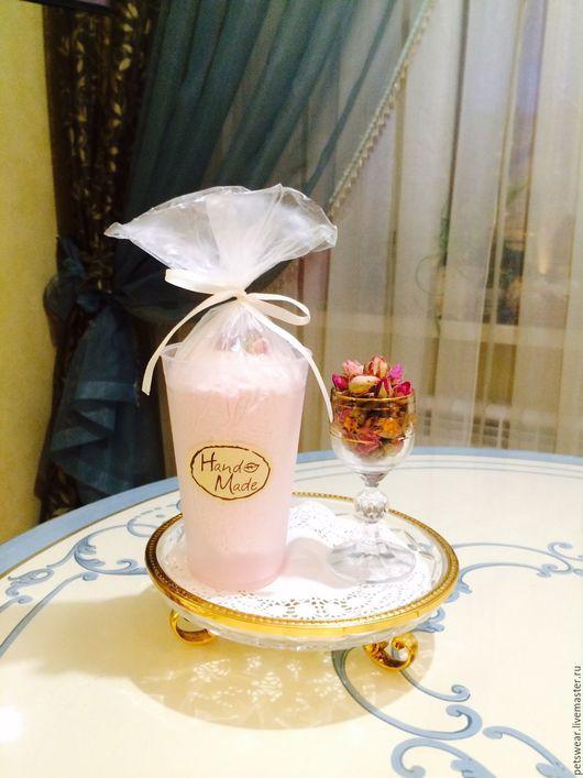"""Пена, молочко для ванны ручной работы. Ярмарка Мастеров - ручная работа. Купить Молоко для ванны""""Сливочная клубника"""". Handmade. Бледно-розовый"""