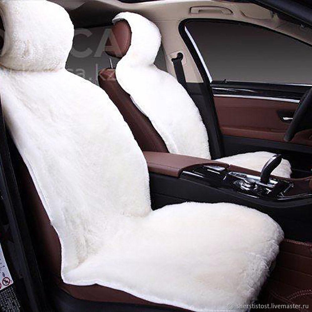 Covers for seats natural sheepskin, Car souvenirs, Nalchik,  Фото №1
