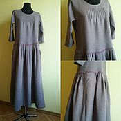 Одежда handmade. Livemaster - original item Linen long dress. Handmade.
