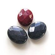 Материалы для творчества handmade. Livemaster - original item Toned faceted agate beads 2 colors. Handmade.