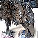 Игрушки животные, ручной работы. Грифон-ворон Равен, бархатный пластик. Елена Рыжикова (lassskavelvety). Ярмарка Мастеров. Равен