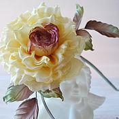 Украшения handmade. Livemaster - original item Silk flowers rose Lauder. Handmade.