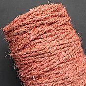 Материалы для творчества ручной работы. Ярмарка Мастеров - ручная работа Сизалевый шнур розовый. Handmade.