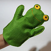 Перчатки для лягушки своими руками 32