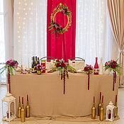 Свадебный салон ручной работы. Ярмарка Мастеров - ручная работа Оформление президиума,свадьба в Саратове. Handmade.