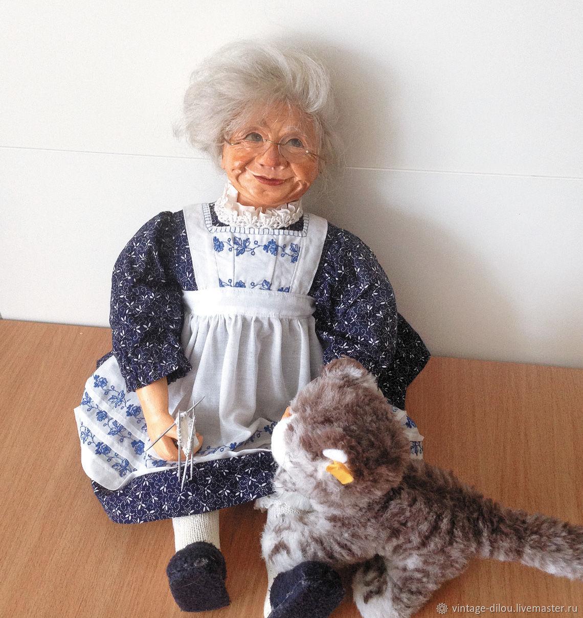 Винтажная кукла Бабушка, Куклы и пупсы, Пермь,  Фото №1