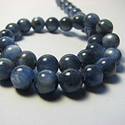 Материалы для творчества handmade. Livemaster - original item Kyanite, 6 mm, natural kyanite. Handmade.