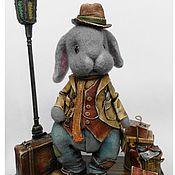 """Куклы и игрушки ручной работы. Ярмарка Мастеров - ручная работа """"На перроне"""". Handmade."""