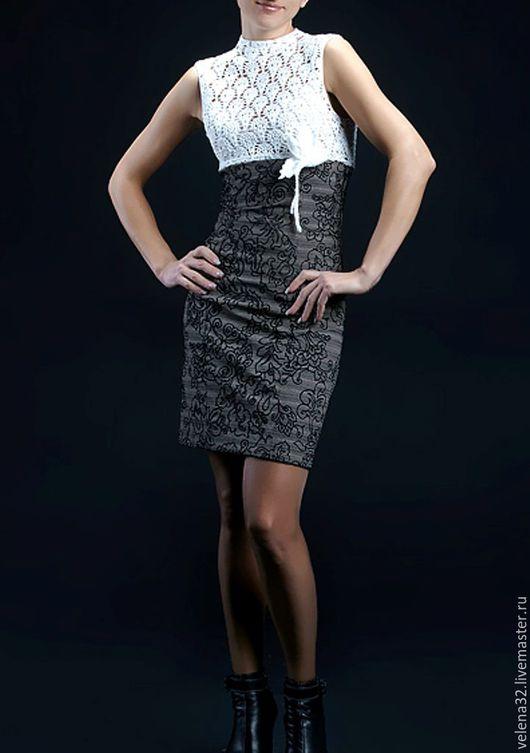 """Платья ручной работы. Ярмарка Мастеров - ручная работа. Купить Платье """"Анабель"""". Handmade. Комбинированный, платье, платье летнее"""