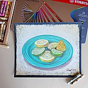 """Картины и панно ручной работы. Ярмарка Мастеров - ручная работа """"Цитрусы"""". Handmade."""