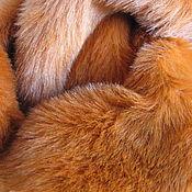 """Материалы для творчества ручной работы. Ярмарка Мастеров - ручная работа Английский плюш 25мм. """" Рыжая лиса"""". Handmade."""