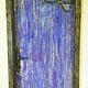 """Элементы интерьера ручной работы. Заказать Роспись Двери """"Спящая Красавица"""". LubInna. Ярмарка Мастеров. Роспись по дереву, детская комната"""