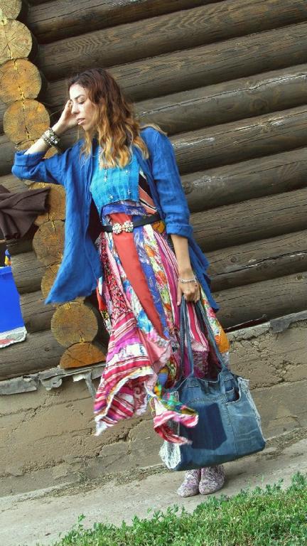Платья ручной работы. Ярмарка Мастеров - ручная работа. Купить платье НА ЛЕТО легкое и натуральное. Handmade. Разноцветный