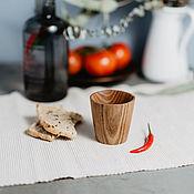 Посуда handmade. Livemaster - original item Glass wooden Siberian Elm #R12. Handmade.