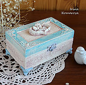 Для дома и интерьера handmade. Livemaster - original item Two angels, box. Handmade.