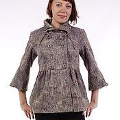 Одежда ручной работы. Ярмарка Мастеров - ручная работа Джинсовая курточка на подкладке. Handmade.
