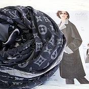 """Аксессуары handmade. Livemaster - original item Платок каре из ткани Louis Vuitton """"Monogram luxury"""". Handmade."""