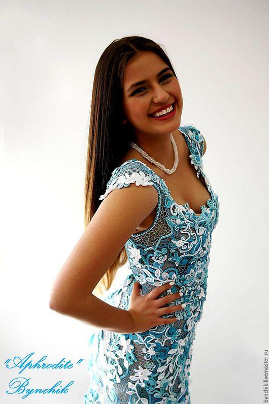 Платье `Афродита`,  авторская ручная работа Натальи Бондаренко