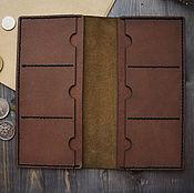 Сумки и аксессуары handmade. Livemaster - original item Leather purse Minttiger. Handmade.