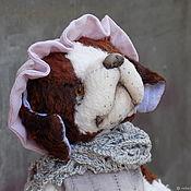 Куклы и игрушки handmade. Livemaster - original item Nanny Nana, the St. Bernard dog Teddy. Handmade.
