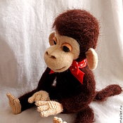 Куклы и игрушки ручной работы. Ярмарка Мастеров - ручная работа Обезьяна Чарли. Handmade.