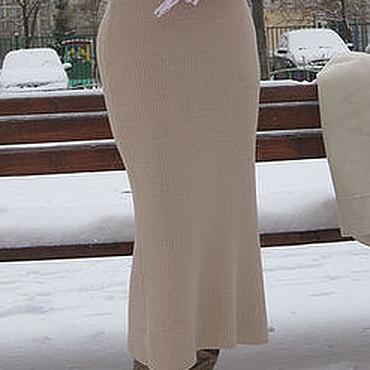 """Одежда ручной работы. Ярмарка Мастеров - ручная работа Юбка """"Зима пришла 2"""". Handmade."""