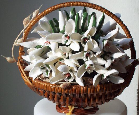 Цветы ручной работы. Ярмарка Мастеров - ручная работа. Купить 12 месяцев. Handmade. Белый, цветы