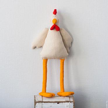 Куклы и игрушки ручной работы. Ярмарка Мастеров - ручная работа Игрушка Курочка. Петушок тильда ручной работы. Handmade.