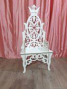 Кресла ручной работы. Ярмарка Мастеров - ручная работа Трон. Для фотосессий. Handmade.