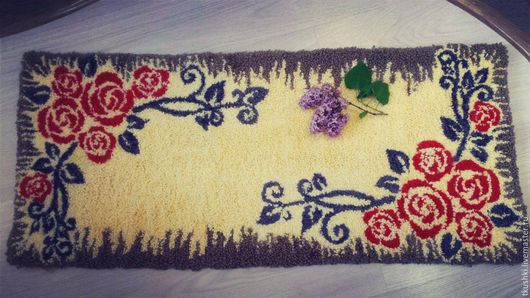 Текстиль, ковры ручной работы. Ярмарка Мастеров - ручная работа. Купить ковер ручной работы. Handmade. Для дома и интерьера