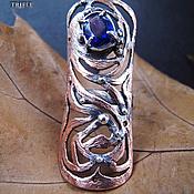 """Украшения ручной работы. Ярмарка Мастеров - ручная работа кольцо с кианитом """"Amazon"""". Handmade."""