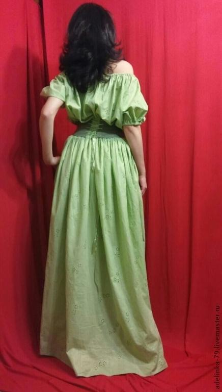 """Платья ручной работы. Ярмарка Мастеров - ручная работа. Купить Платье в пол """"Нежность 2"""" с корсажем.. Handmade. Платье нарядное"""
