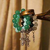 Фен-шуй и эзотерика handmade. Livemaster - original item Pectoral rosary beads made of natural stones Prayer. Handmade.