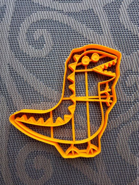 Кухня ручной работы. Ярмарка Мастеров - ручная работа. Купить Динозавр Джоржа - вырубка для печенья, пряников, мастики. Handmade. Комбинированный