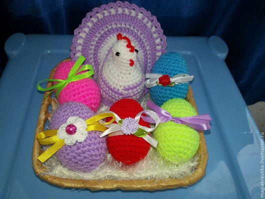 Подарки на Пасху ручной работы. Ярмарка Мастеров - ручная работа. Купить Пасхальный набор. Handmade. Пасха, пасхальная курочка