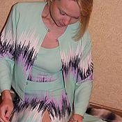 Одежда ручной работы. Ярмарка Мастеров - ручная работа Костюм. Ткань - вискозное кади. Versus.. Handmade.